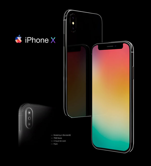 iPhone-X-Mockup-Free-3D-Model