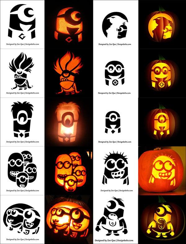 290 free printable halloween pumpkin carving stencils patterns rh designbolts com