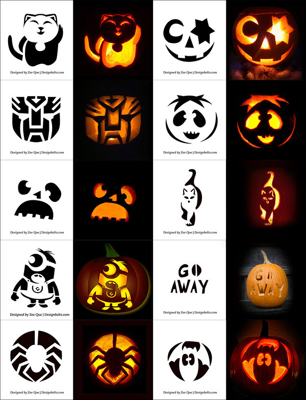 10-Cute,-Funny,-Cool-&-Easy-Halloween-Pumpkin-Carving-Patterns-Stencils-&-Ideas