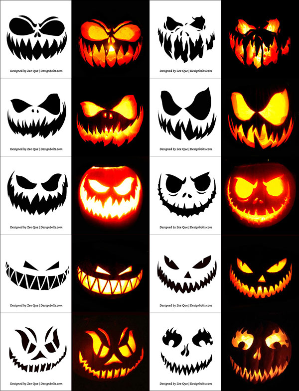 10-Free-Scary-Halloween-Pumpkin-Carving-Stencils,-Patterns-&-Ideas-2017-Faces-&-Images