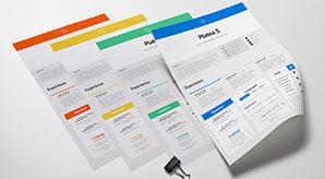 10-Fresh-Free-Resume-CV-Design-Templates-2017-Available-on-Dropbox