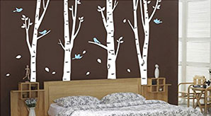 Beautiful-Trees-&-Branches-Wall-Stickers-Wall-Art-Decals-For-Bedroom