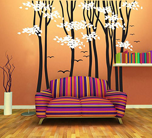CaseFan-98.4x70.9-Brids-on-Forest-Trees-Wall-Decal-for-Living-Room-Kids-Baby-Nursery-Removable-Art-Decoration-Sticker