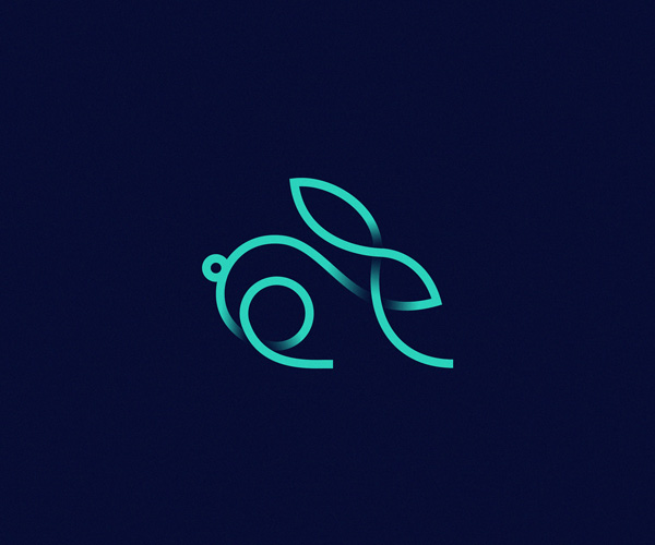 Creative-Rabbit-Logo-Design