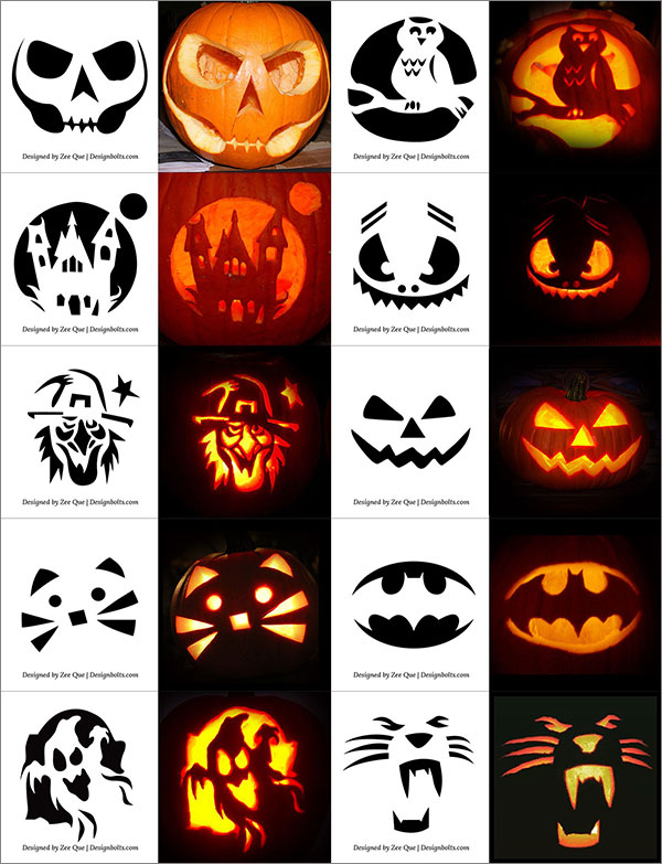 Easy-Yet-Simple-Halloween-Pumpkin-Carving-Patterns-Stencils-for-Kids