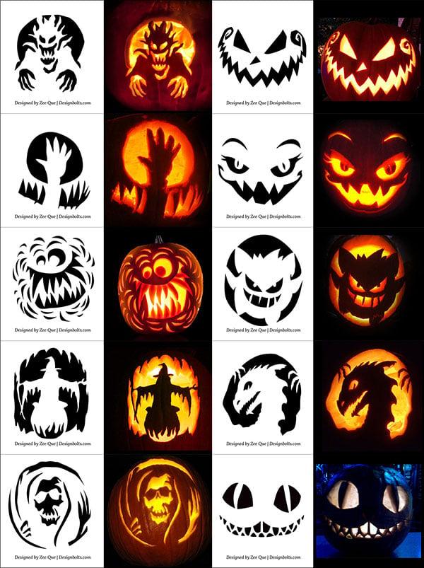 Free-Halloween-Scary-Pumpkin-Carving-Stencils-Patterns-Templates-Ideas