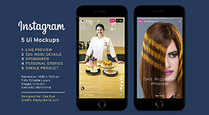 Free-Instagram-Sponsored,-Live-&-Status-Stories-UI-Mockup-PSD-File