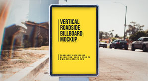 Free-Outdoor-Advertising-Street-Billboard-Mockup-PSD-file