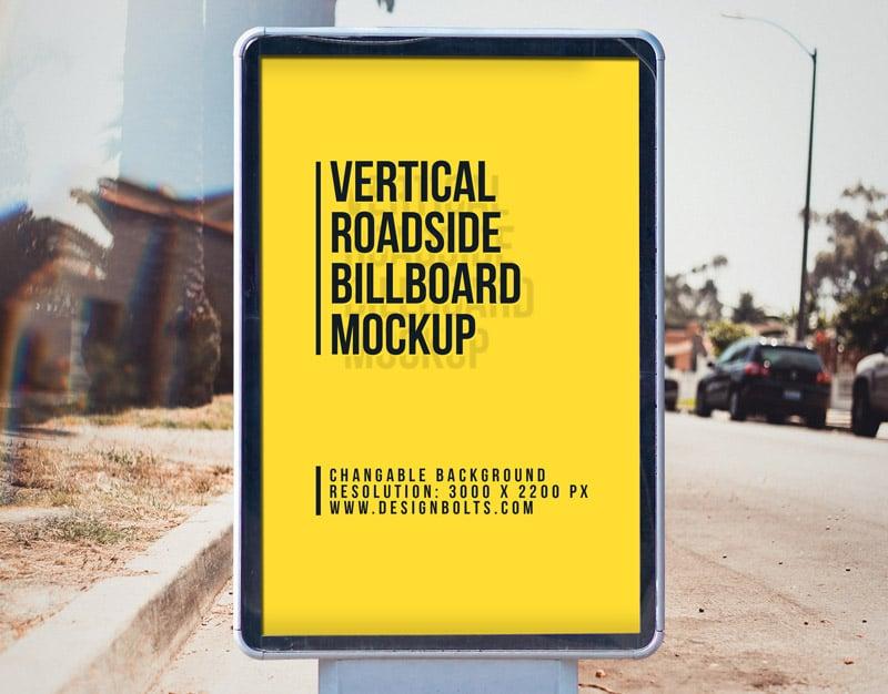 Free-Outdoor-Advertising-Street-Billboard-Mockup-PSD