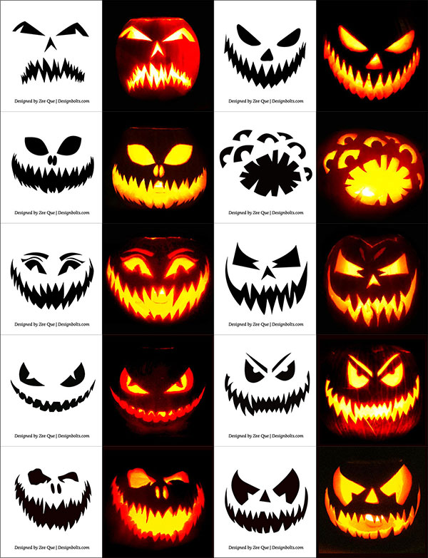 Free-Scary-Halloween-Pumpkin-Carving-Stencils,-Patterns-&-Ideas-2017-Pictures-&-Templates