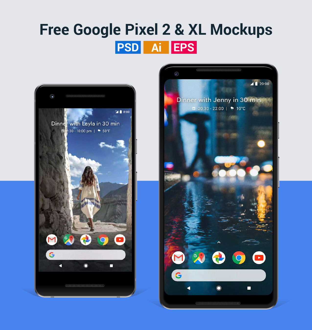 Free-Vector-Google-Pixel-2-&-Pixel-2-XL-Mockup-in-Ai-EPS-PSD