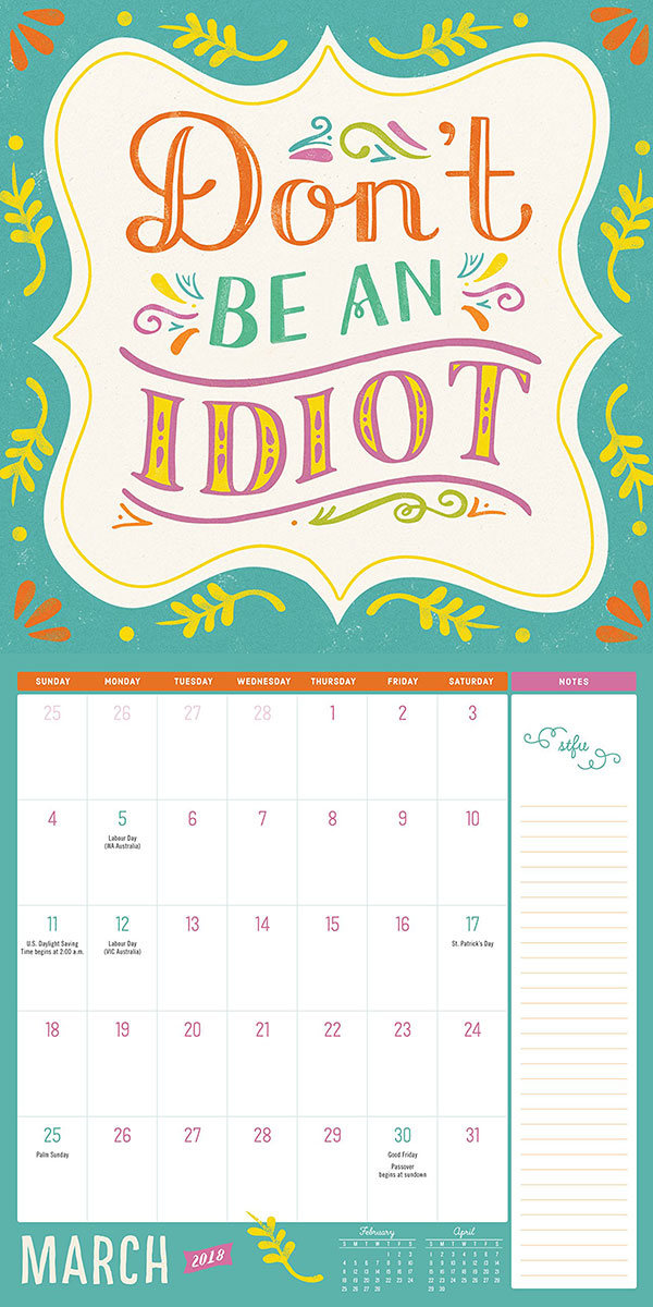 It's-Just-Not-Your-Day-Wall-Calendar-2018-3