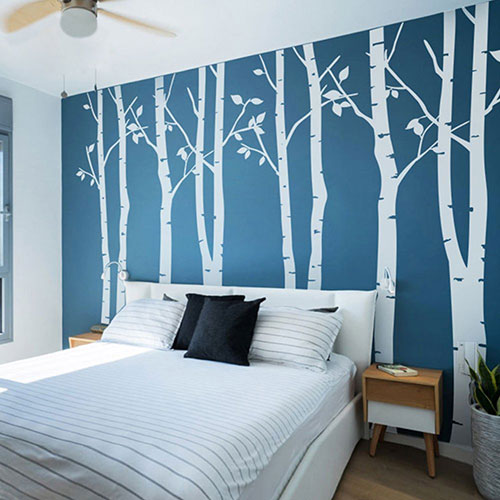 20 beautiful trees branches vinyl wall decals wall for Decoration autocollant mural