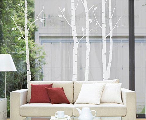 N.SunForest-Nature-White-Birch-Tree-Wall-Decal-Sticker-Art-Branch-Leaves-Decor-for-Sitting-room-Restroom-Study-Nursery-Office-Supermarket-Door-Window