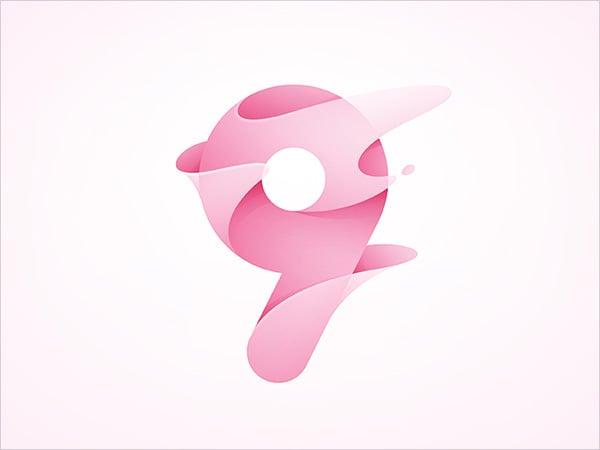 Numeric-9-Logo-Design