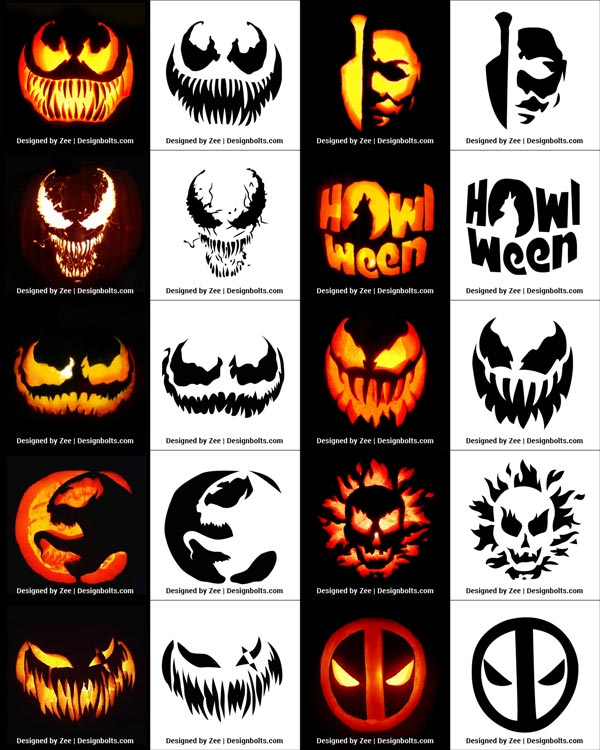 Pumpkin-Stencils