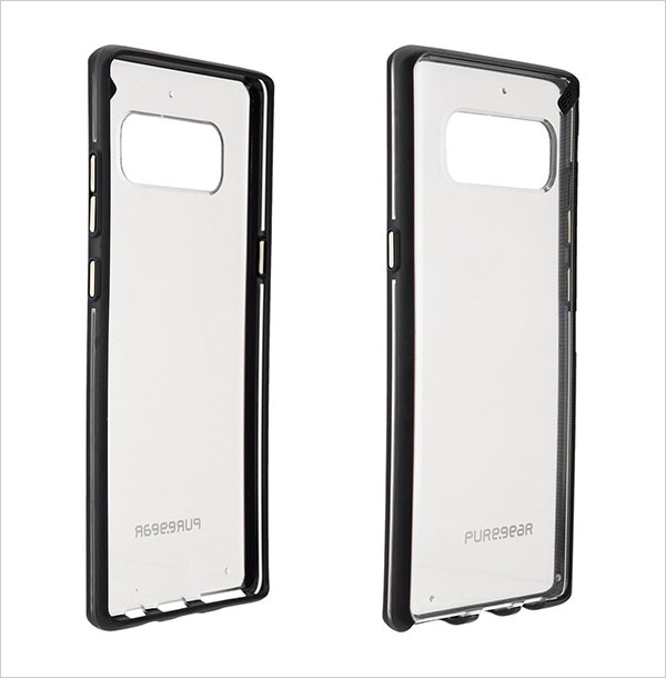 PureGear-Slim-Shell-Case-for-Samsung-Galaxy-Note-8-Clear-Case