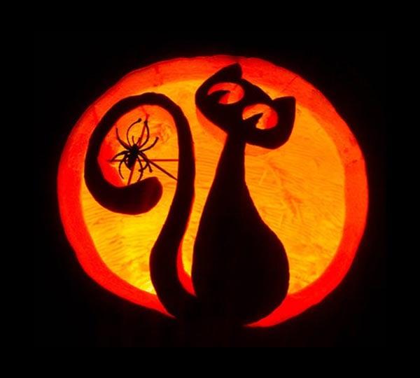 30 Scary Halloween Pumpkin Carving Face Ideas Designs