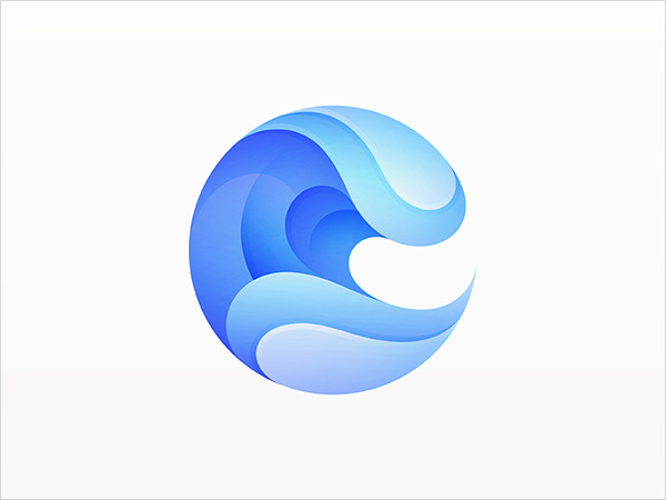 Sea-Waves-Logo-Design