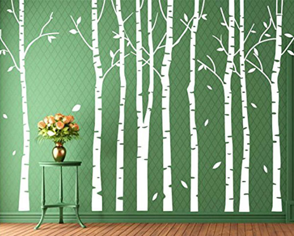 Set-9-Birch-Tree-Wall-Decal-Forest-Nursery-Living-Room-Decor-White-Tree-Wall-Decal-Wall-Stickers-Tree