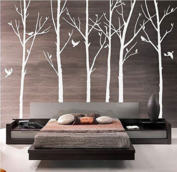 Set-of-6-Tree-Branch-Wall-Decal-Birch-Tree-Wall-Decal-with-Birds-White-Tree-Wall-Decal-Nursery-Wall-Stickers-Tree-for-Living-Room
