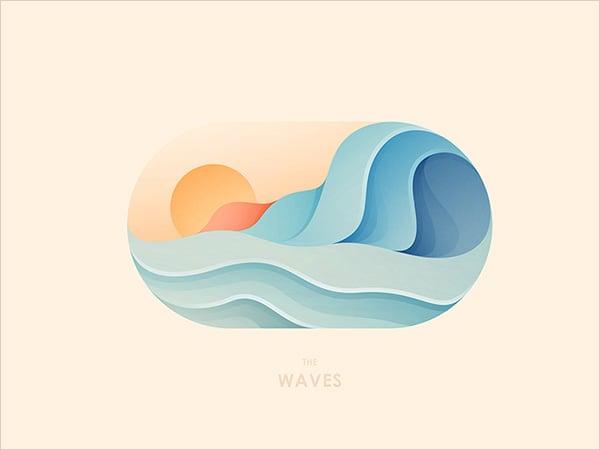 Sun_waves_Logo_Design