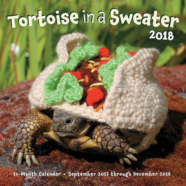 Tortoise-in-a-Sweater-Funny-2018-Calendar