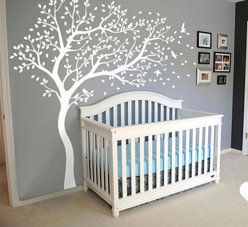 Wall-Art-Decoration-Wall-Mural-Vinyl-Wall-Decal-Tree-and-Flying-Birds-Cherry-Blossom-Tree-Wall-Sticker-for-Kids-Room