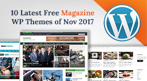 10 Best Free Latest Magazine WordPress Themes of November 2017