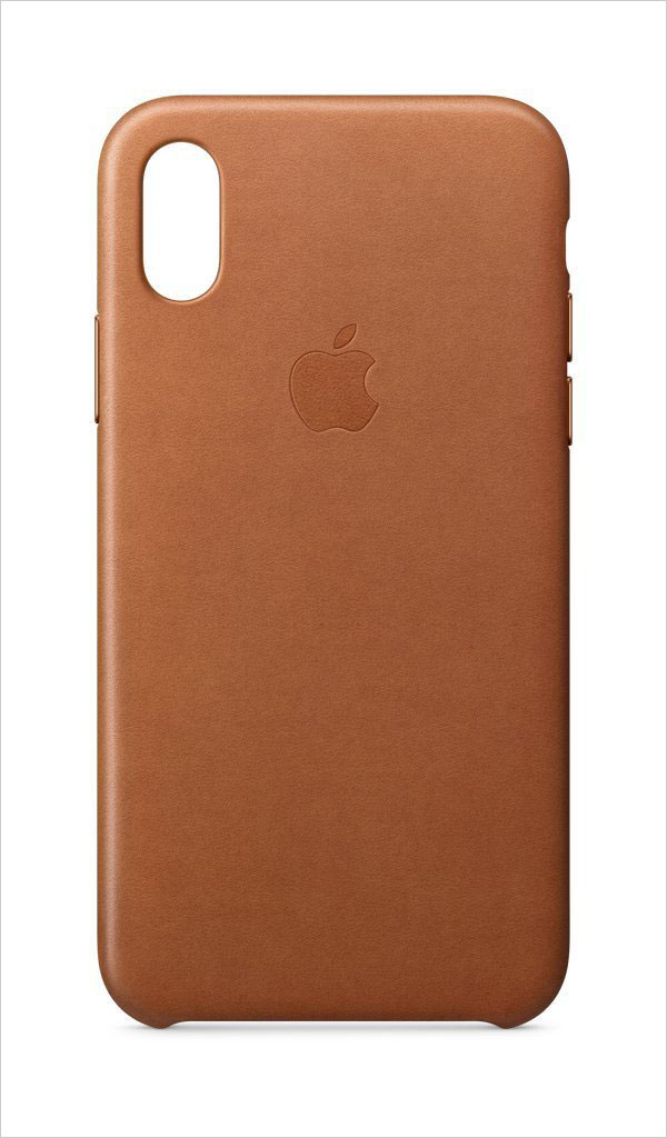 Apple-iPhone-X-Leather-Case-Saddle-Brown