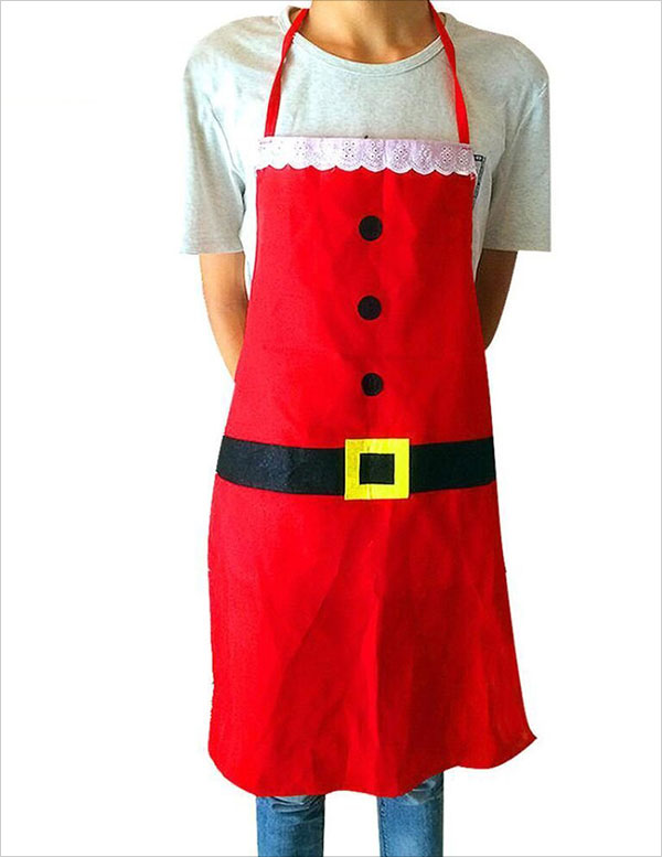 Christmas-Apron,-Beauty-Van-Red-Creative-Christmas-Apron