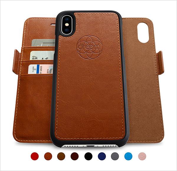 Dreem-iPhone-X-Wallet-Case-with-Detachable-SlimCase