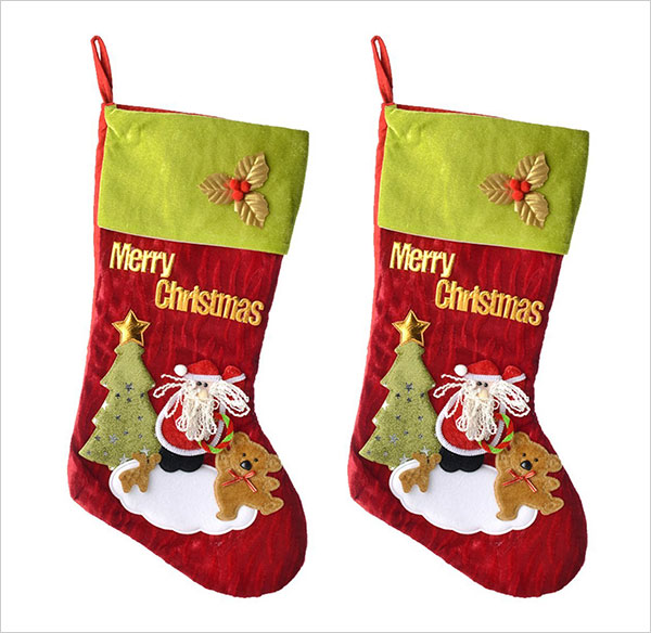 Large-Felt-Christmas-Stockings-18Inch-Santa-Christmas-Stockings