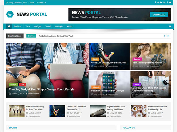News-Portal-ultimate-magazine-theme-with-creative-design