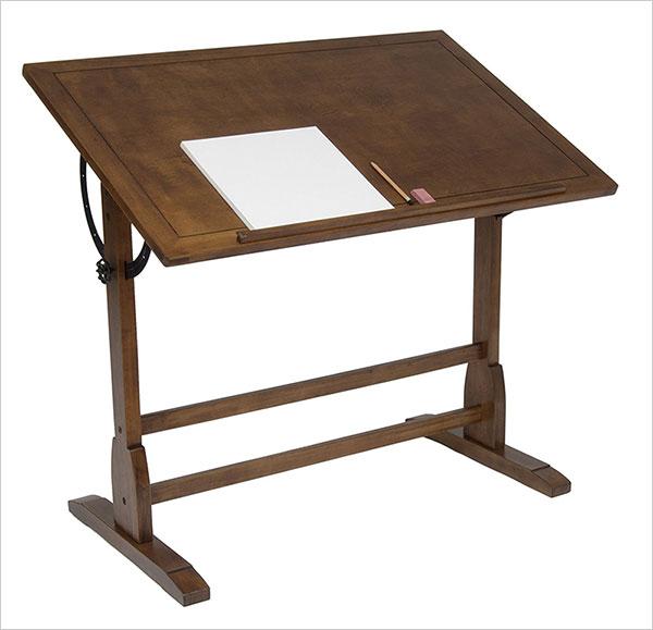 STUDIO-DESIGNS-42in-Vintage-Drafting-Table---Rustic-Oak-13305
