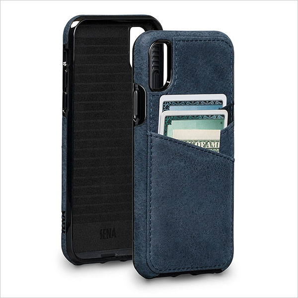 Sena-Bence-Lugano-Wallet---Genuine-Leather-Drop-Safe-Protection-Card-Holder-case-for-iPhone-X