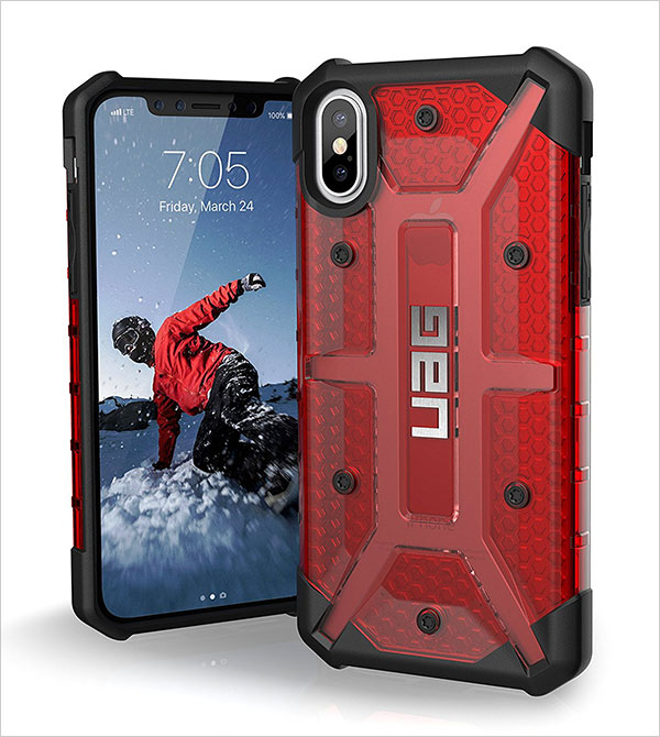 UAG-iPhone-X-Plasma-Feather-Light-Rugged-Military-Drop-Tested-iPhone-Case