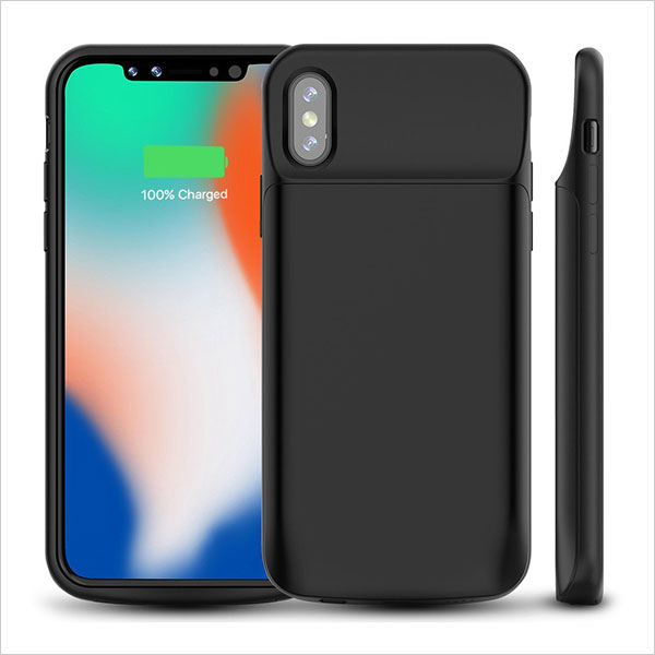 iPhone-X-Battery-Case,-ALLEASA-6000mAh-Rechargeable-Extended-Charger-Case