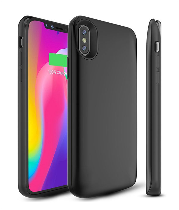 iPhone-X-Battery-Case,-BrexLink-3600mAh-iPhone-X-Rechargeable-Portable-Charging-Case