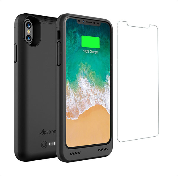 iPhone-X-Battery-Case-with-Qi-Wireless-Charging,-Alpatronix-BXX-5.8-inch-4200mAh
