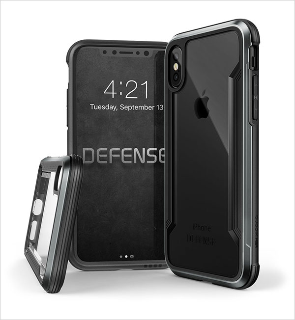 iPhone-X-Case,-X-Doria-Defense-Shield-Series---Military-Grade-Drop-Tested