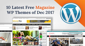 10 Best Free Magazine Blog WordPress Themes for December 2017