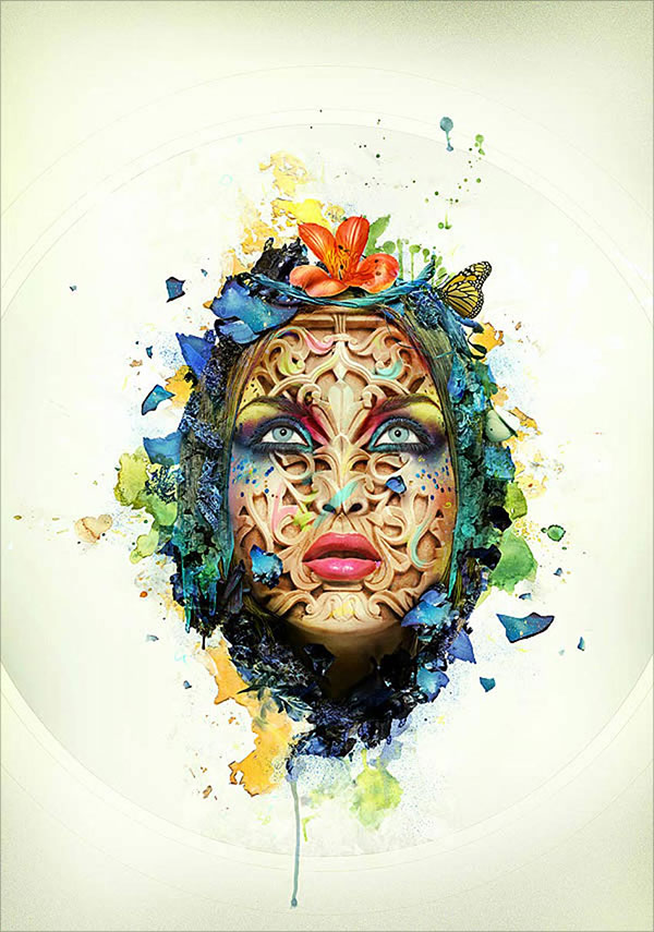 Beautiful-Abstract-Portrait-in-Photoshop
