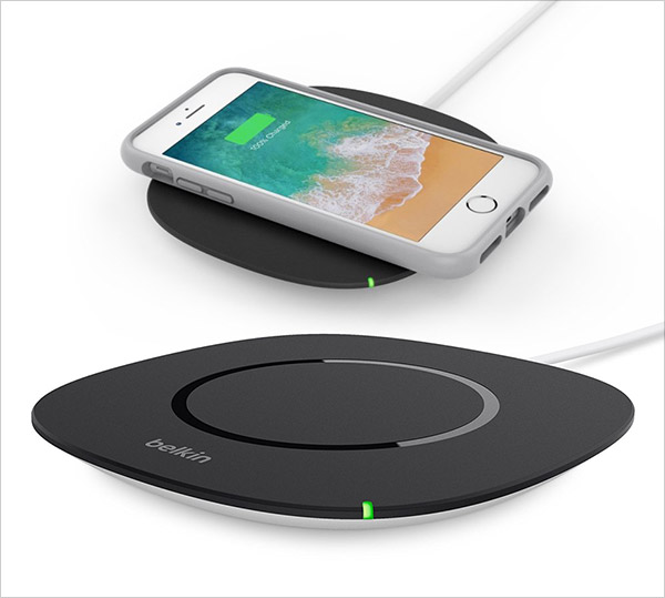 10 best iphone x 10 fast wireless charging pad you must have. Black Bedroom Furniture Sets. Home Design Ideas