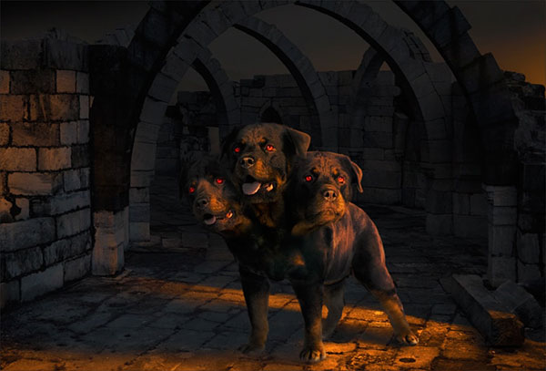 Cerberus-Photo-Manipulation-in-Adobe-Photoshop