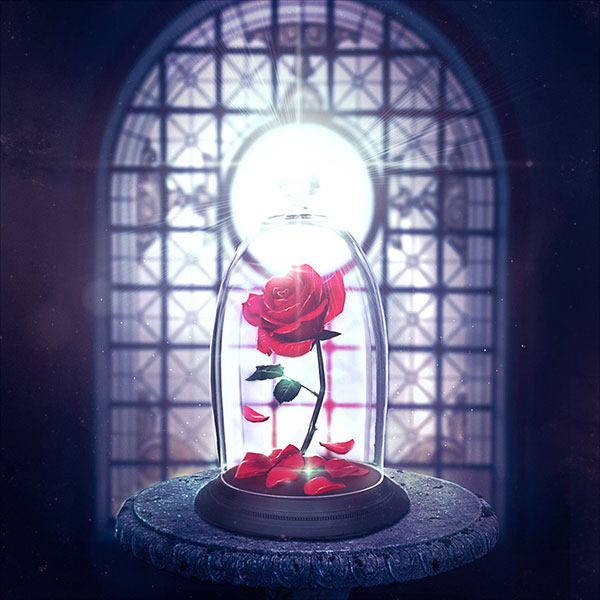 Enchanted-Rose-Photo-Manipulation-in-Adobe-Photoshop