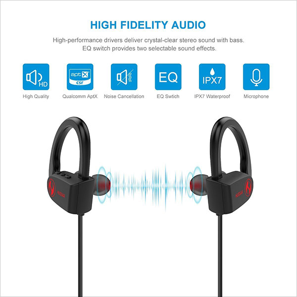 Hussar-Magicbuds-2-Next-Generation-Bluetooth-Headphones,-Wireless-Sports-Earbuds-with-Mic-2