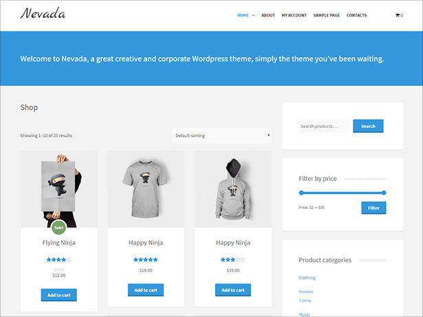 Nevada-Lite-clean,-minimal-and-responsive-child-theme-for-Alhena-Lite