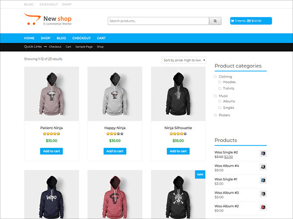 New-Shop-free-WooCommerce-WordPress-theme-for-online-stores-and-e-commerce-websites