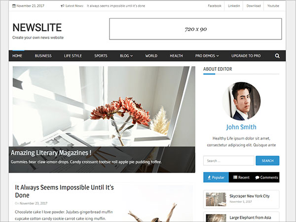 Newslite-clean-and-responsive-WordPress-magazine-theme-with-beautiful-design